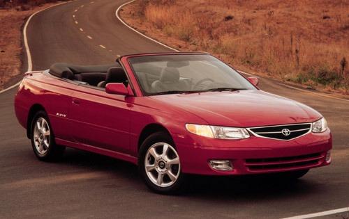 2001 toyota camry solara convertible sle fq oem 1 500
