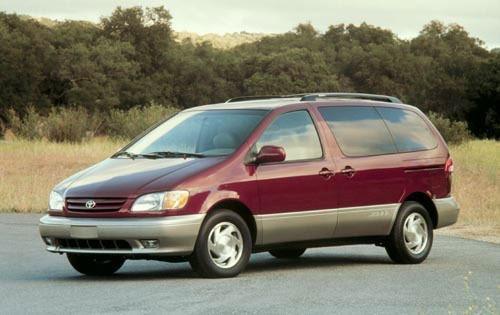 2001 toyota sienna passenger minivan xle fq oem 1 500