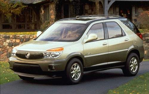 2002 buick rendezvous 4dr suv cx fq oem 3 500