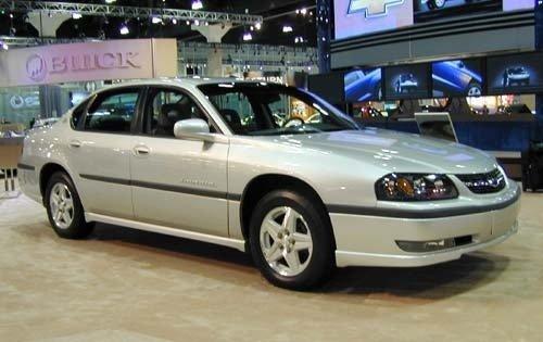 2002 chevrolet impala sedan ls fq oem 1 500