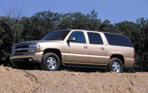 2002 chevrolet suburban 4dr suv 1500 lt fq oem 1 500