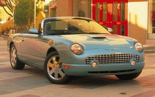 2002 ford thunderbird convertible deluxe fq oem 1 500
