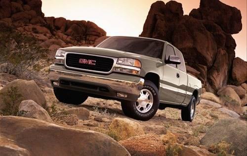 2002 gmc sierra 1500 extended cab pickup slt fq oem 1 500