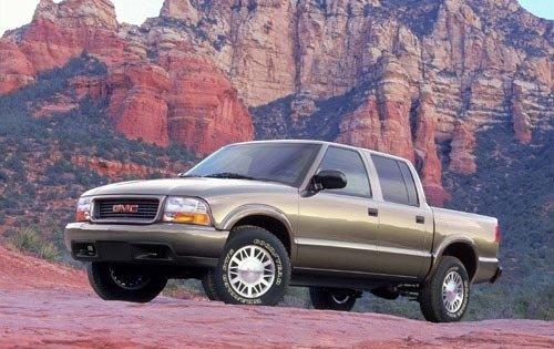2002 gmc sonoma crew cab pickup sls fq oem 1 500