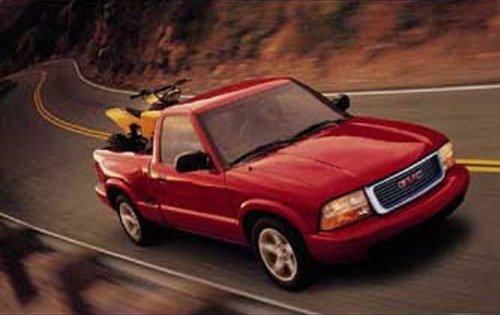 2002 gmc sonoma regular cab pickup sls zq8 fq oem 1 500