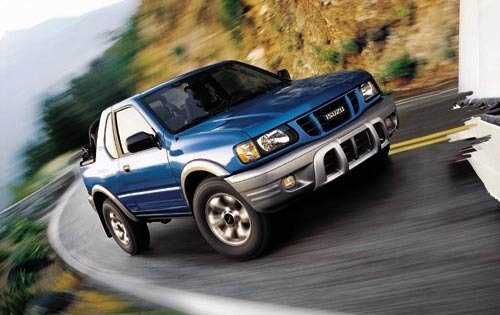 2002 isuzu rodeo sport convertible suv s v6 fq oem 1 500