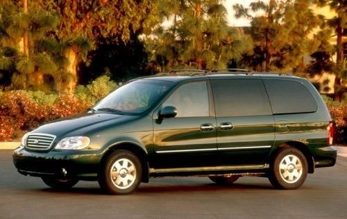 2002 kia sedona passenger minivan lx fq oem 1 500