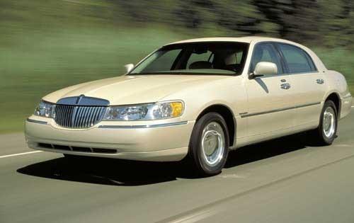 2002 lincoln town car sedan cartier fq oem 1 500