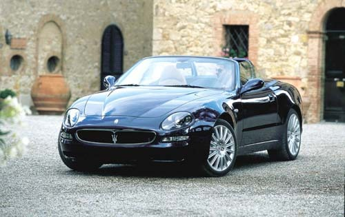 2002 maserati spyder convertible gt fq oem 1 500