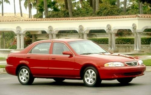 2002 mazda 626 sedan lx v6 fq oem 1 500