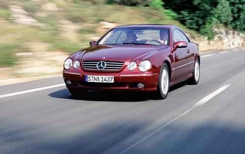 2002 mercedes benz cl class coupe cl600 fq oem 1 500