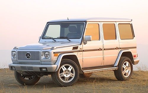 2002 mercedes benz g class 4dr suv g500 fq oem 1 500