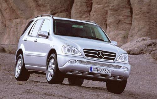 2002 mercedes benz m class 4dr suv ml500 fq oem 1 500