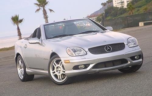 2002 mercedes benz slk class convertible slk32 amg fq oem 1 500