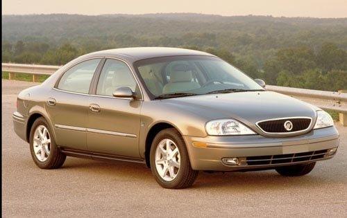 2002 mercury sable sedan ls premium fq oem 1 500