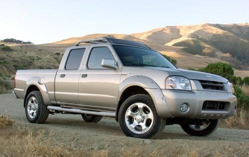 2002 nissan frontier crew cab pickup sc v6 fq oem 1 500