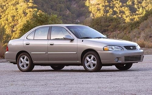 2002 nissan sentra sedan gxe fq oem 1 500