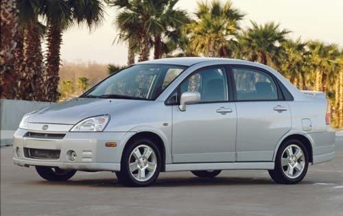 2002 suzuki aerio sedan gs fq oem 1 500