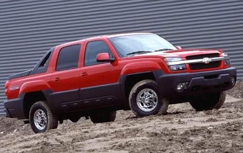 2003 chevrolet avalanche crew cab pickup 2500 fq oem 1 500