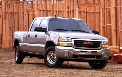 2003 gmc sierra 1500hd crew cab pickup sle fq oem 1 500
