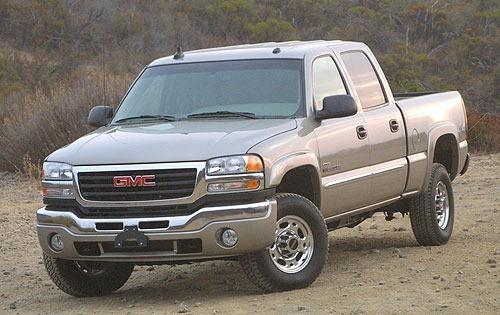 2003 gmc sierra 2500hd crew cab pickup slt fq oem 1 500