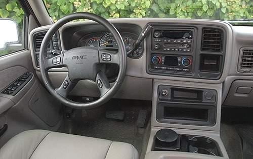2003 gmc sierra 2500hd crew cab pickup slt i oem 1 500