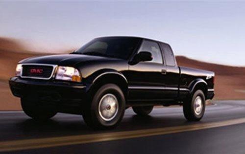 2003 gmc sonoma extended cab pickup sls fq oem 1 500