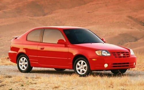 2003 hyundai accent 2dr hatchback gl fq oem 1 500