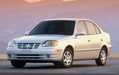 2003 hyundai accent sedan gl fq oem 1 500