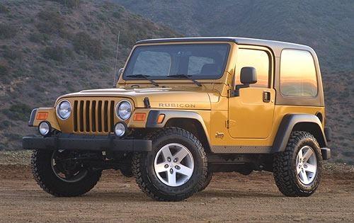 2003 jeep wrangler convertible suv rubicon fq oem 2 500