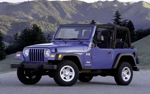 2003 jeep wrangler convertible suv x fq oem 1 500