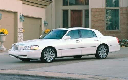 2003 lincoln town car sedan cartier fq oem 1 500