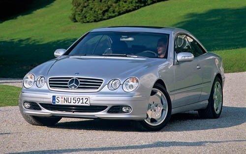 2003 mercedes benz cl class coupe cl600 fq oem 1 500