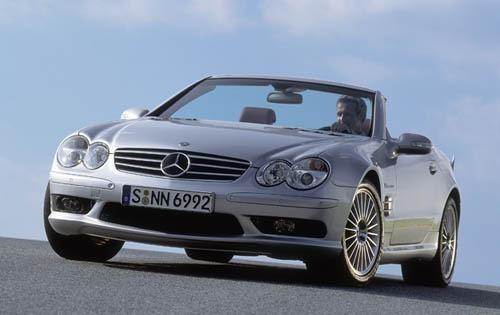 2003 mercedes benz sl class convertible sl55 amg fq oem 1 500
