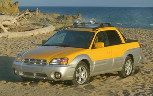 2003 subaru baja crew cab pickup base fq oem 1 500