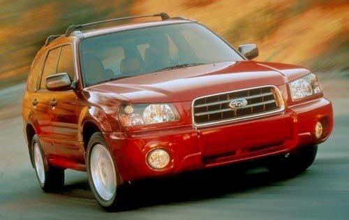 2003 subaru forester wagon xs fq oem 2 500