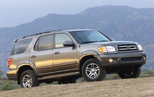 2003 toyota sequoia 4dr suv limited fq oem 1 500