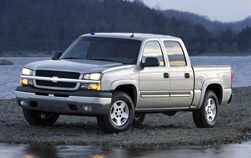 2004 chevrolet silverado 1500 crew cab pickup z71 fq oem 1 500