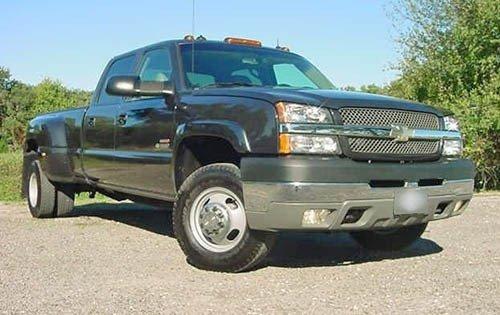 2004 chevrolet silverado 3500 crew cab pickup ls fq oem 1 500
