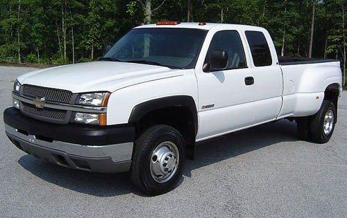 2004 chevrolet silverado 3500 extended cab pickup ls fq oem 3 500