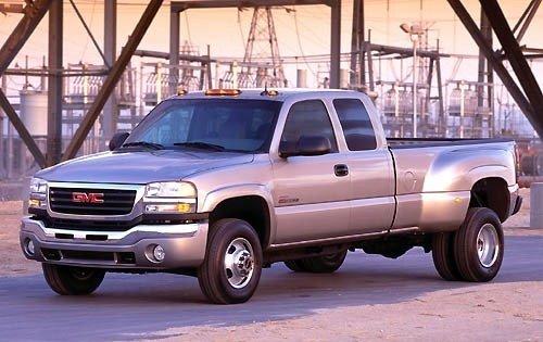 2004 gmc sierra 3500 extended cab pickup slt fq oem 1 500