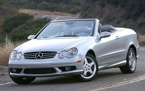 2004 mercedes benz clk class convertible clk500 fq oem 4 500