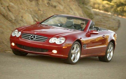 2004 mercedes benz sl class convertible sl600 fq oem 1 500
