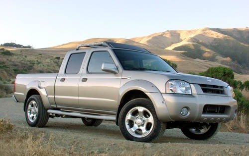 2004 nissan frontier crew cab pickup sc v6 fq oem 1 500