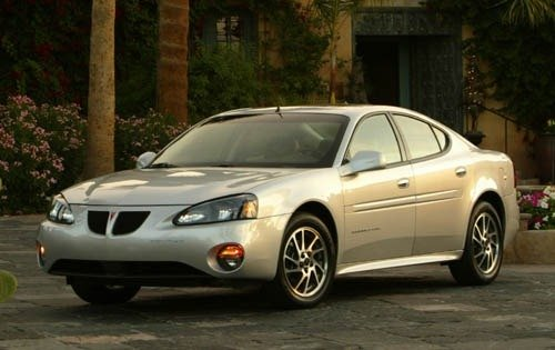 2004 pontiac grand prix sedan gtp fq oem 1 500