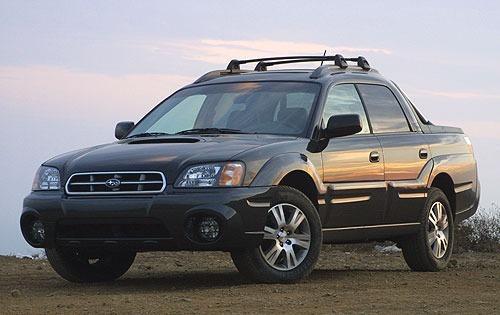 2004 subaru baja crew cab pickup turbo fq oem 1 500