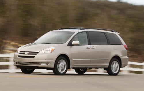 2004 toyota sienna passenger minivan xle 7 passenger fq oem 1 500