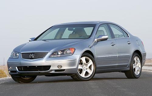 2005 acura rl sedan 35 fq oem 6 500