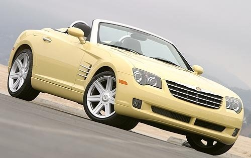 2005 chrysler crossfire convertible limited fq oem 1 500