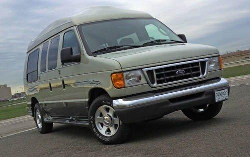 2005 ford econoline wagon passenger van e 150 xlt fq oem 1 500